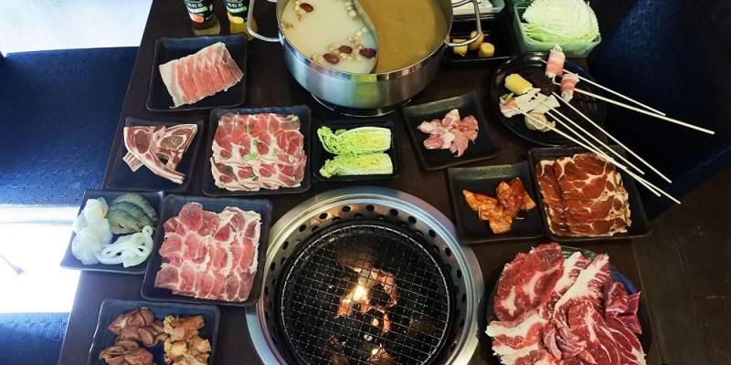 台南美食【和樂屋】串串燒煮麻油雞火鍋.雞豬牛羊燒烤香噴噴│新營美食
