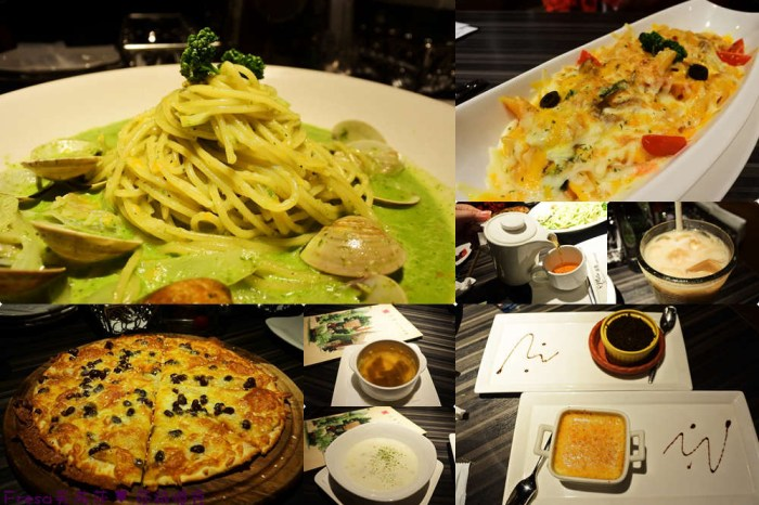 台南義式【洋城義大利餐廳】餐點多樣豐富美味.歐系優雅氛圍空間.約會好去處│家樂福 新仁店│仁德美食