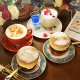 台南甜點【咖啡珈琲】蓬鬆柔軟的法式舒芙蕾.單點$150起.優雅質感下午茶│台南咖啡│中西區美食