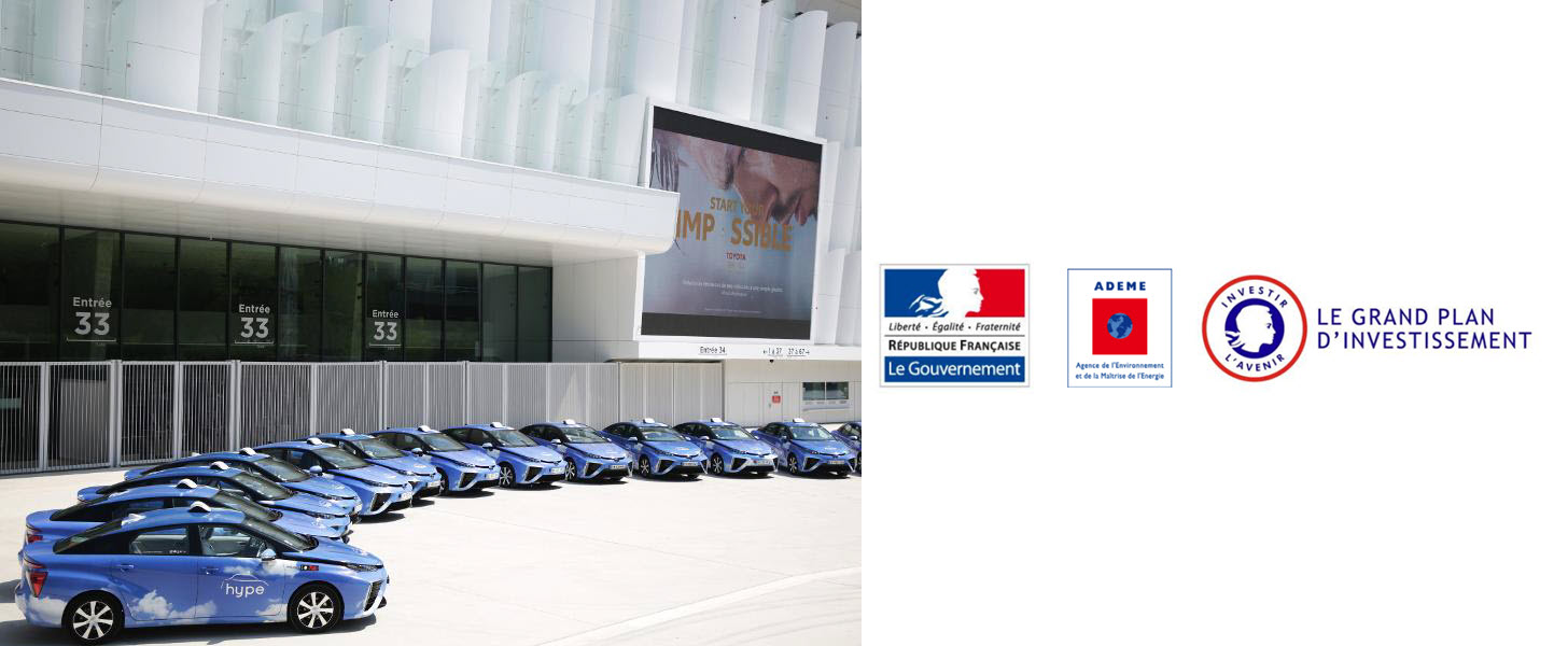 france ademe supports 10 new hydrogen