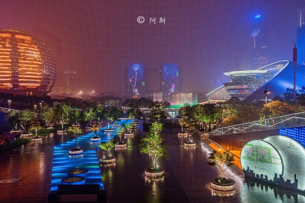 杭州錢江新城燈光秀-21