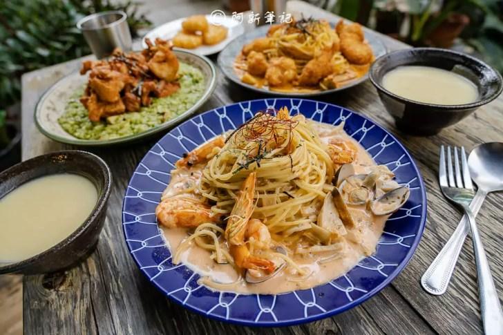 DSC00560 - 熱血採訪│竟然不用250!台中平價義式料理,免費自助吧隨你吃的禾國餐廳pasta