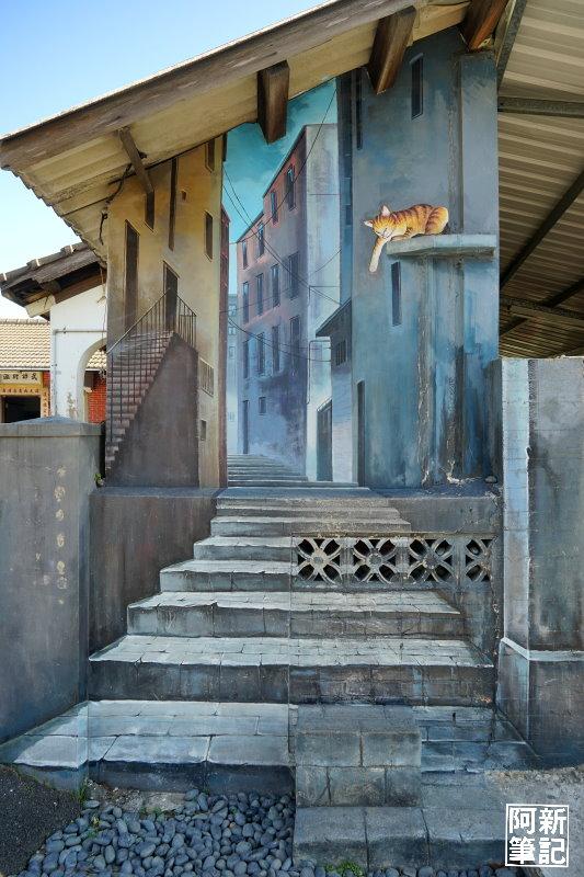 虎尾屋頂上的貓-10