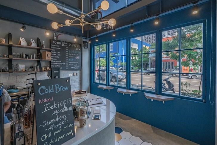 DSC07038 - Pluto Espressoria|台中南屯咖啡館,深藍色系搭寬敞空間,工業風環境超好拍。