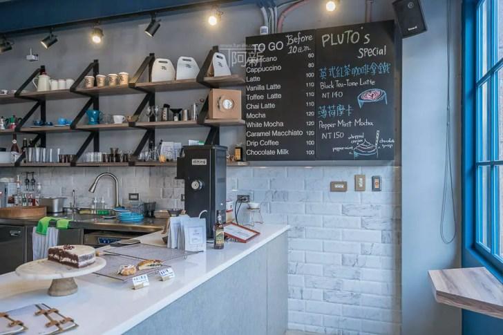 DSC07039 - Pluto Espressoria|台中南屯咖啡館,深藍色系搭寬敞空間,工業風環境超好拍。
