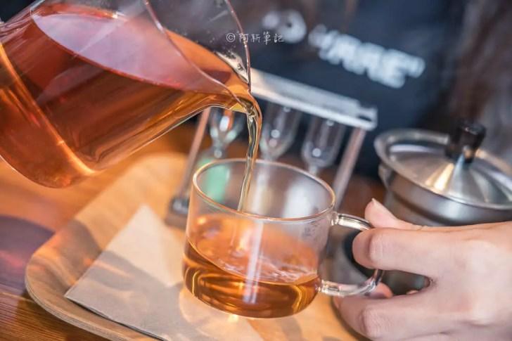 DSC00471 - Workshop Tea Room & Foods|台中超好拍歐洲茶罐打卡牆,建築黑色質感必拍,店家全天候供餐!