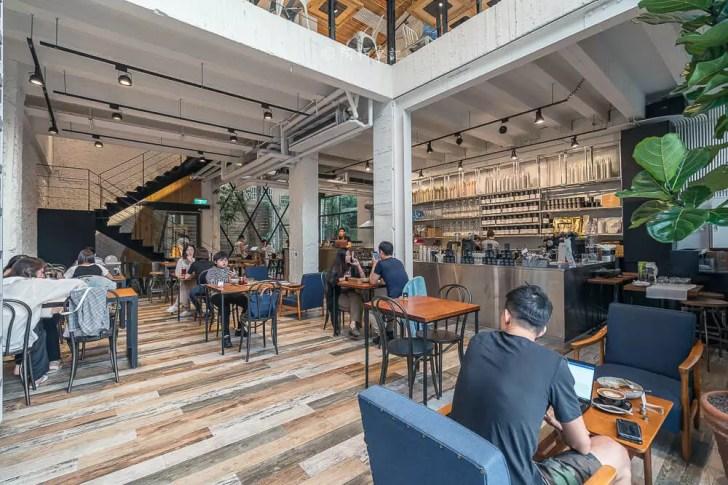DSC00549 - Workshop Tea Room & Foods|台中超好拍歐洲茶罐打卡牆,建築黑色質感必拍,店家全天候供餐!