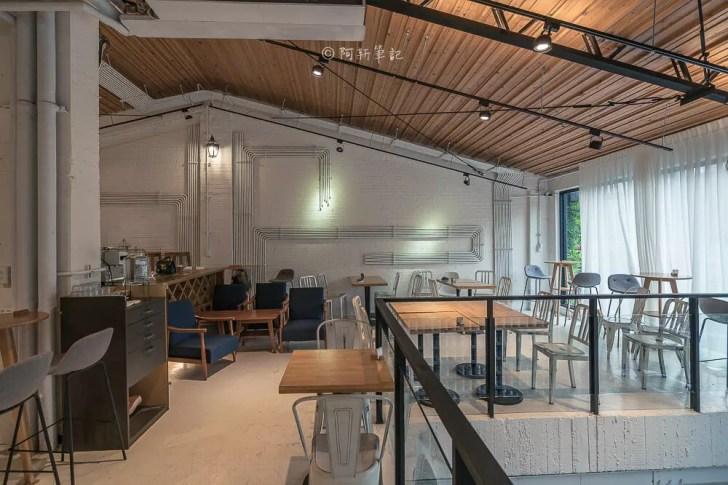 DSC00562 - Workshop Tea Room & Foods|台中超好拍歐洲茶罐打卡牆,建築黑色質感必拍,店家全天候供餐!