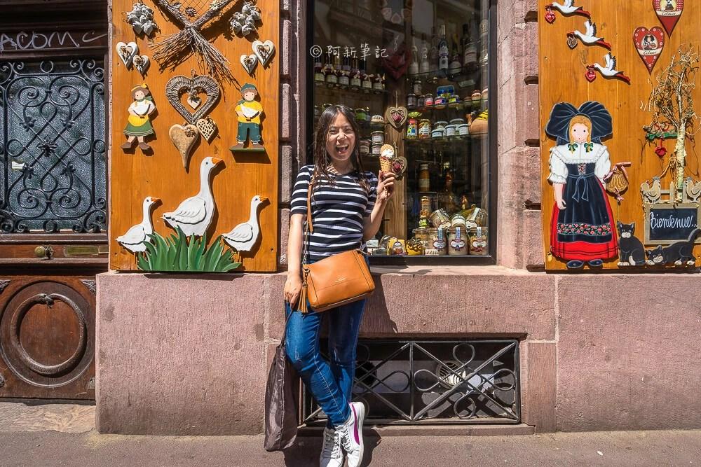 edelw ice,edelw ice colmar,colmar冰淇淋,科爾馬冰淇淋,科爾馬美食,科爾馬自由行,科爾馬旅遊,法國景點,法國自由行