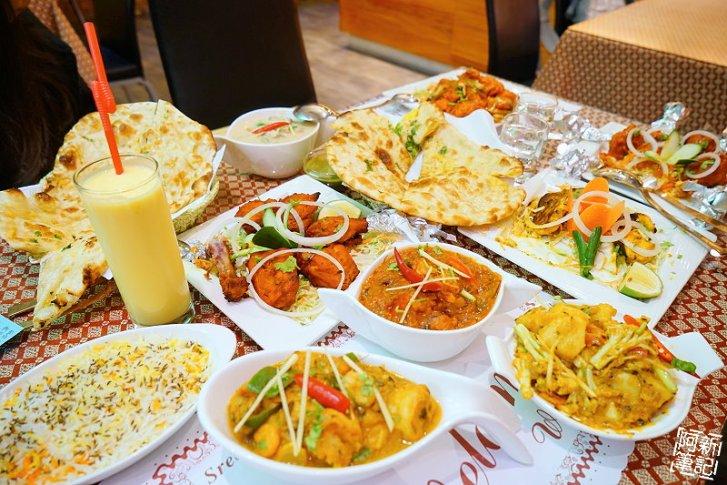 DSC00971 - 【熱血採訪】斯里瑪哈印度餐廳|隱藏公益路美食,道地印度料理超夠味,推薦印度蒜味烤餅、印式棒棒腿、蒜味羊肉咖哩~