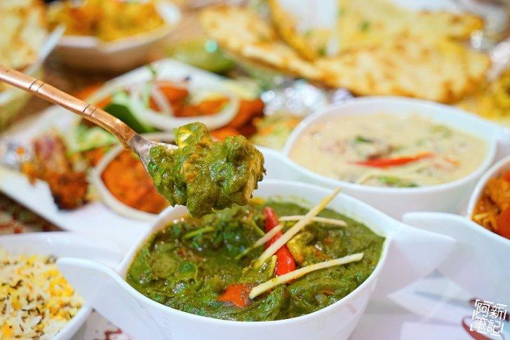 DSC01020 - 【熱血採訪】斯里瑪哈印度餐廳|隱藏公益路美食,道地印度料理超夠味,推薦印度蒜味烤餅、印式棒棒腿、蒜味羊肉咖哩~