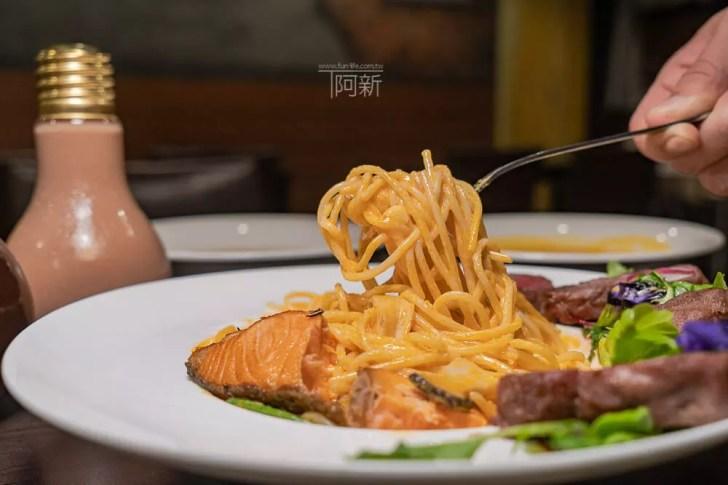 DSC09386 - 熱血採訪│台中科博館餐高沐手作料理餐廳新菜單來啦!鮭魚、菲力牛一次雙重奏,美味又滿足