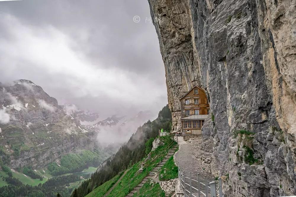 瑞士懸崖餐廳,BERGGASTHAUS AESCHER