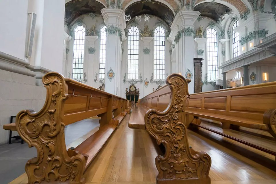 瑞士聖加侖修道院,聖加侖修道院,聖加侖修道院書院,聖加侖修道院圖書館,聖加侖圖書館-20