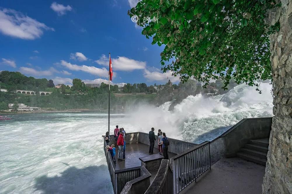 瑞士萊茵瀑布,萊茵瀑布,歐洲最大瀑布,瑞士旅遊,瑞士-14