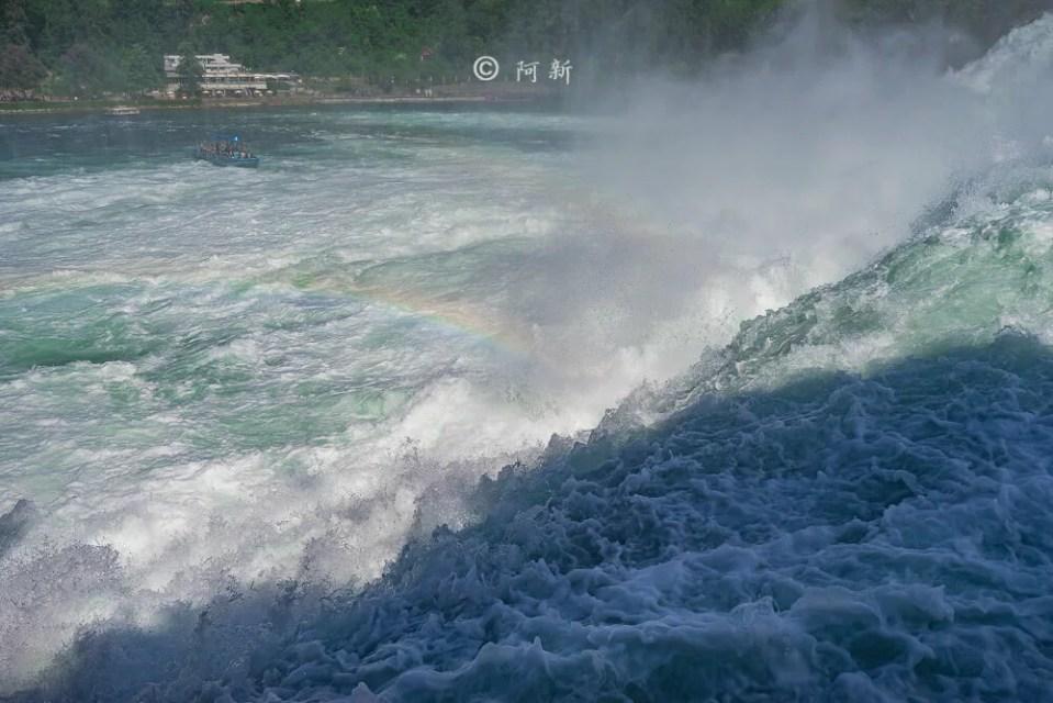 瑞士萊茵瀑布,萊茵瀑布,歐洲最大瀑布,瑞士旅遊,瑞士-17