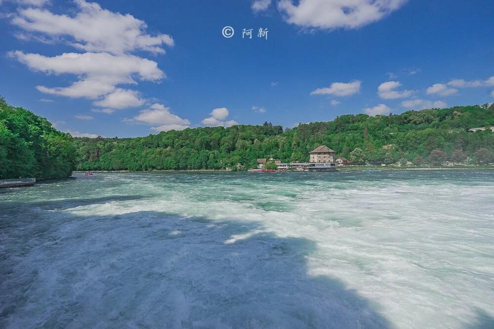 瑞士萊茵瀑布,萊茵瀑布,歐洲最大瀑布,瑞士旅遊,瑞士-24