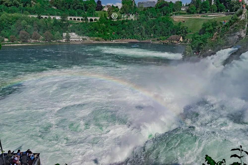 瑞士萊茵瀑布,萊茵瀑布,歐洲最大瀑布,瑞士旅遊,瑞士-29
