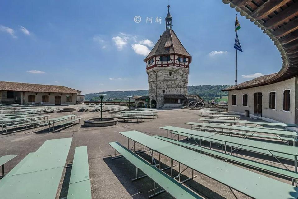 米諾要塞,沙夫豪森米諾要塞,Munot堡壘,梅諾城堡,梅諾要塞,瑞士旅遊景點-27