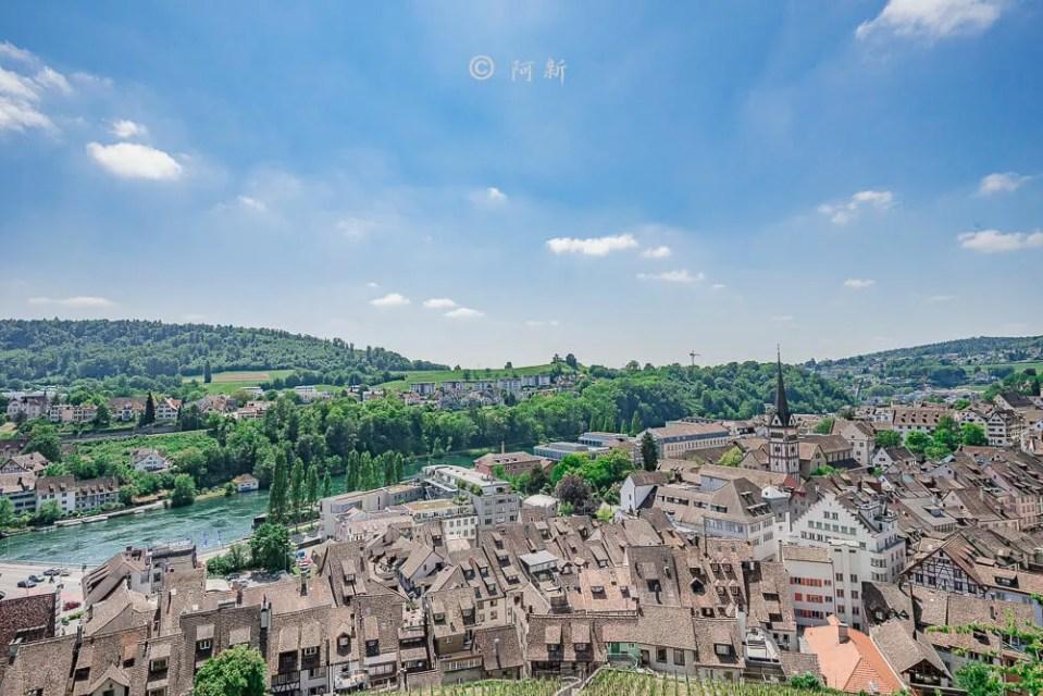 米諾要塞,沙夫豪森米諾要塞,Munot堡壘,梅諾城堡,梅諾要塞,瑞士旅遊景點-33