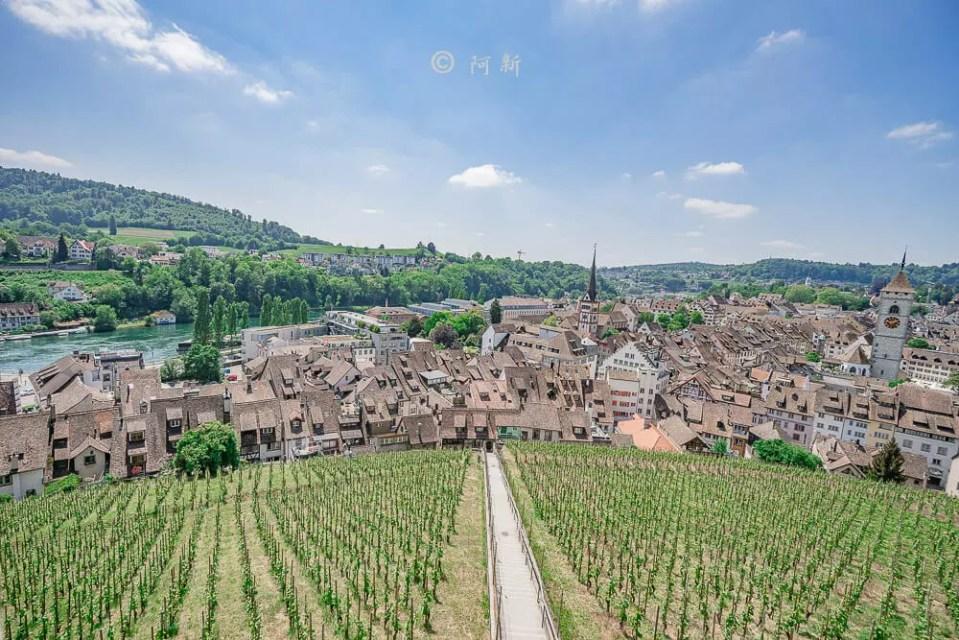 米諾要塞,沙夫豪森米諾要塞,Munot堡壘,梅諾城堡,梅諾要塞,瑞士旅遊景點-38