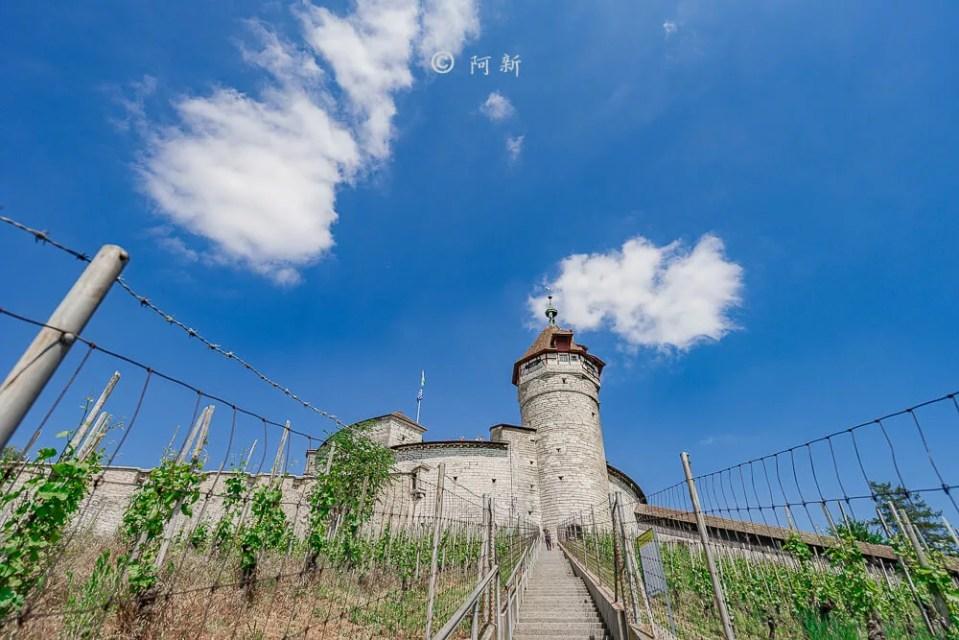 米諾要塞,沙夫豪森米諾要塞,Munot堡壘,梅諾城堡,梅諾要塞,瑞士旅遊景點-46