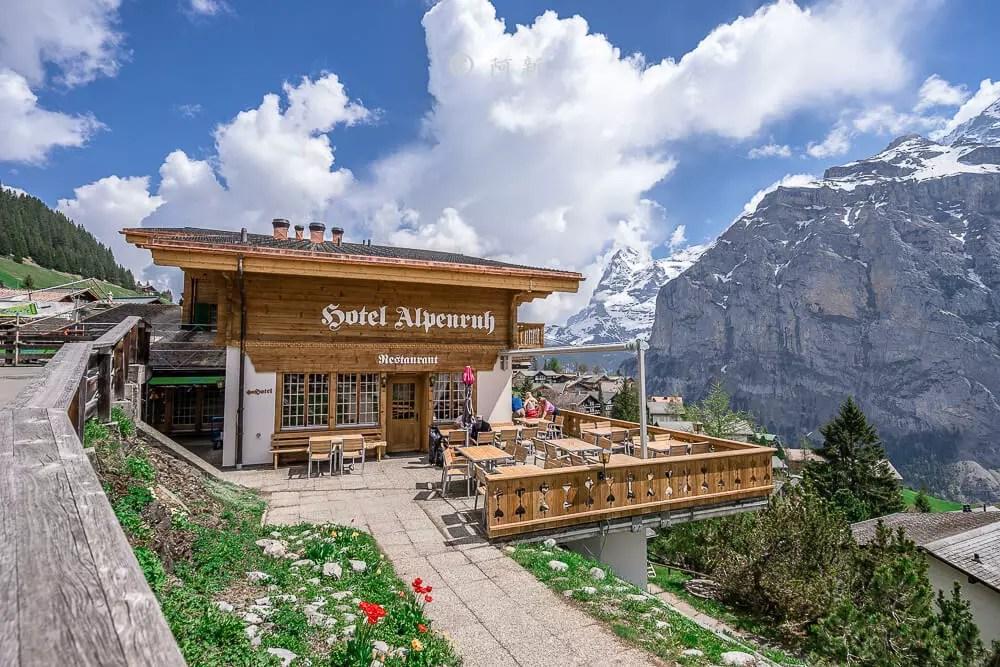米倫小鎮,瑞士米倫小鎮,瑞士最美小鎮
