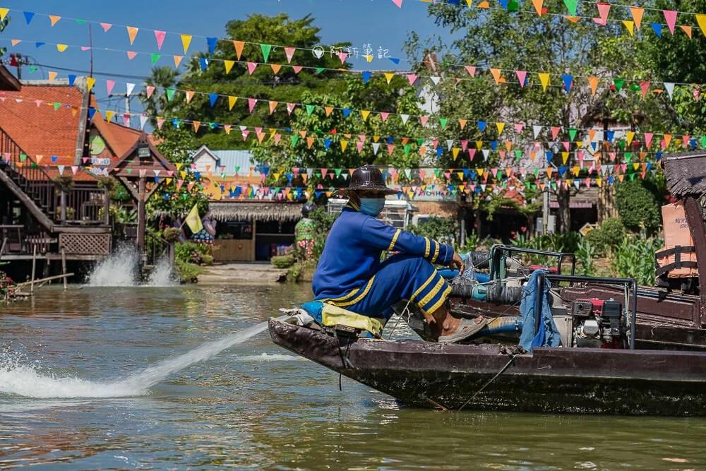 大城水上市場怎麼去,大城水上市場美食,大城水上市場交通