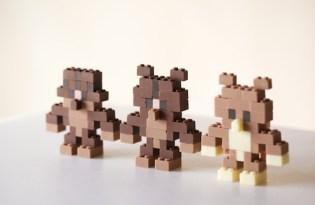 [美食設計]積木造型巧克力