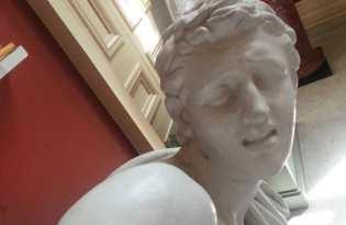 [攝影藝術]希臘羅馬雕像惡搞自拍照