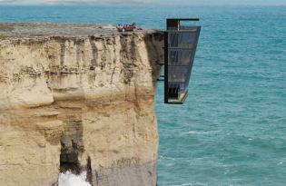 [建築設計]無敵海景峭壁建築「The Cliff House」
