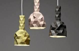 [燈飾設計]摩登三角幾何造型燈罩設計