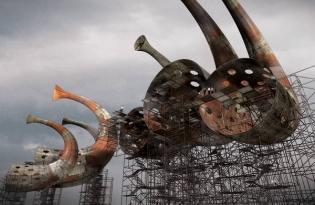 [裝置藝術]丹麥風力發電共鳴公共設施