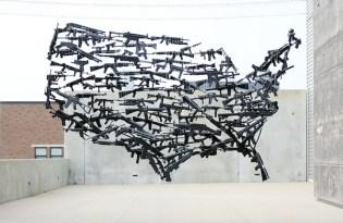[裝置藝術]正視槍枝氾濫宣傳藝術展
