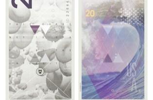 [平面設計]美金鈔票視覺設計
