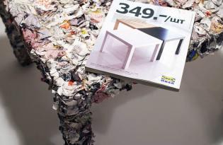[家具設計]舊書回收計畫「IKEA table」