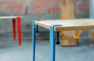 [家具設計]桌腳模組「The Floyd Leg」