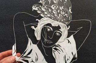 [極致工藝]Maude White精美紙雕藝術