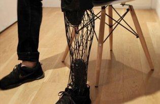 [產品設計]3D打樣網狀義肢