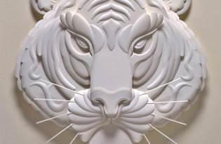 [平面設計]浮刻紙雕藝術