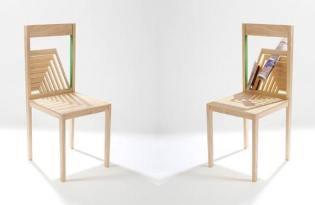 [家具設計]米蘭疊層收納椅「Narcissus Chair」