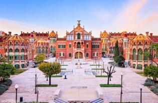 [建築設計]西班牙聖十字聖保羅醫院