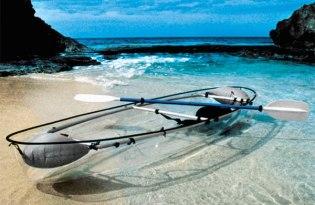 [交通工具設計]透明獨木舟