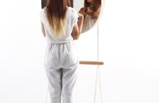 [家具設計]可折收納化妝鏡