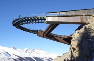 [建築設計]冰川天空步道Glacier Skywalk