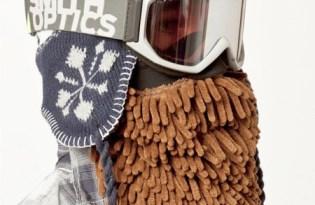 [文創設計]Beardski大鬍子滑雪面罩
