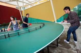 [產品設計]360度乒乓球桌Ping-Pong Go-Round
