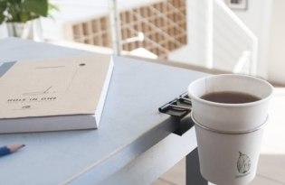 [產品設計]Animi Causa桌邊長尾夾置杯架