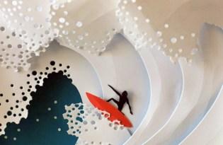 [平面設計]Marina Adamova紙雕藝術