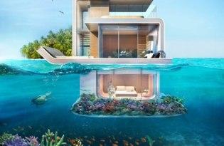 [建築設計]杜拜超奢華漂浮豪宅